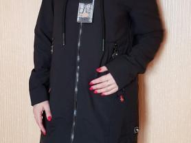 Новая осенняя куртка парка 40 42 44 и 48 черная
