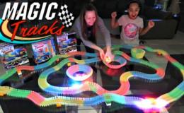 Волшебный трек/трасса конструктор Magic Tracks 220 деталей