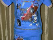 КОМПЛЕКТ (футболка+шоры) новый р.122