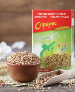 Зерно пшеницы пророщенное целое (1 кг)