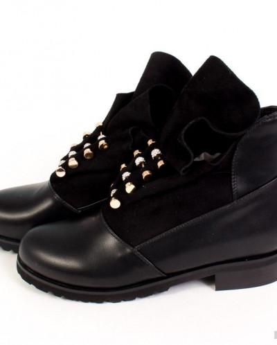 Ботинки женские  осень,  стразы