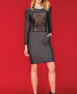 ZAPS - Осень-Зима 18-19 CASTEL Платье 004