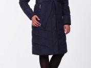 Пальто новое зимнее с енотом, 52 р-р