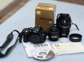 Nikon D5100+Nikkor 18-50+Nikkor 35 1.8G