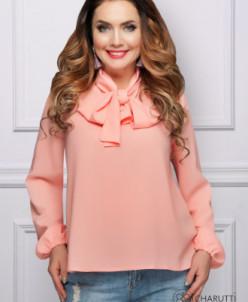 Блуза В ритме города (персик)