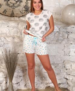 Пижама (модель: 454 ёжики)