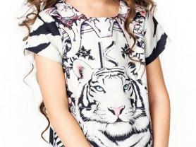 Платье Тигр 3-12 лет