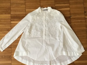 Расклешенная блузка Ermanno Scervino