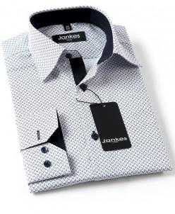Рубашка с рисунком по ткани 164-170 см