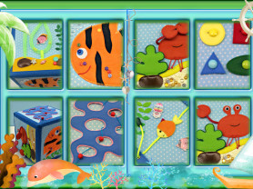 Развивающий кубик Море