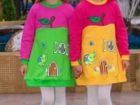 Детское платье яблоко)