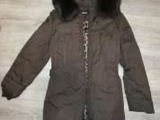 Куртка - пуховик, пальто - парка, удлененна, капюш