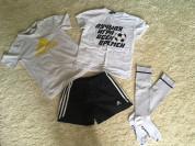 Шорты+футболка Adidas + гетры+ футболка VseMayki