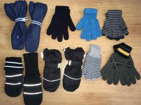 Краги, варежки, перчатки 2-7 лет
