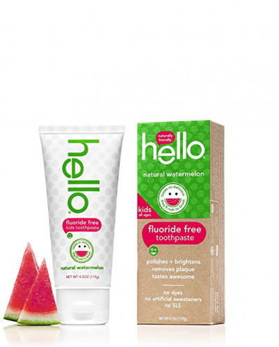 Hello Oral Care Fluoride Free Toothpaste for Kids 3мес+ (4шт
