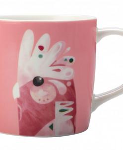 Кружка Розовый какаду в подарочной упаковке