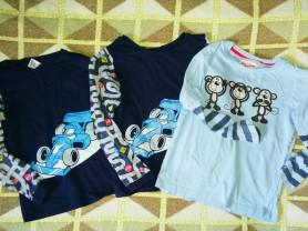 Отдам Три футболки от пижам бу  р. 110-116 для дом