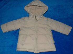 Куртка утепленная на флисе, 86-96 см