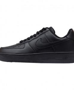 Кроссовки Nike Air Force 1 '07 Black Leather