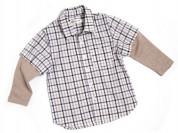 Новая рубашка с длинным рукавом Венейя, 104-110 см