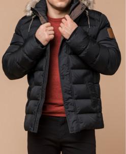 Мужская графитовая куртка модная модель 27715
