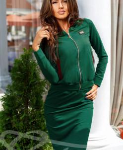 Стильный юбочный костюм Gepur
