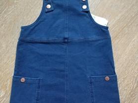 Next новый джинсовый сарафан, 5-6 лет