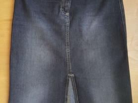 Стильная джинсовая юбка 42 - 44 размер