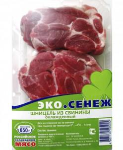 Шницель из свинины 2,6 кг (4 лотка)