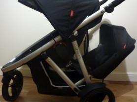 коляска для погодок phil&teds vibe 2