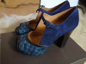 Босоножки Chie Mihara синие новые