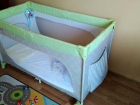 Манеж-кровать Happy Baby+матрас