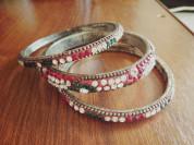 Индийские браслеты 3 шт в комплекте