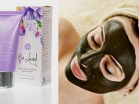 Угольная очищающая маска-скраб