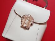 Новый кожаный рюкзак Pelloro белый
