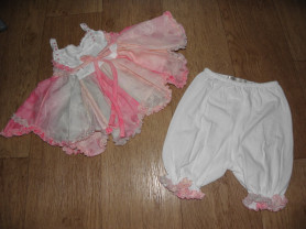 Топ и брюки, комплект Isobella & Chloe (США) 12-24