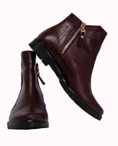 Стильные кожаные ботинки. Новинка!