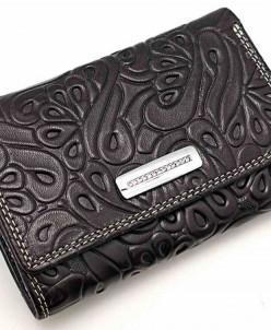 Маленький женский кожаный кошелек Sergio Valentini СВ 3184-0