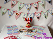 Набор для декора дня рождения  Woodland Animals