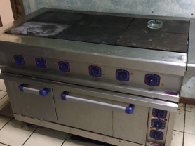 плита с духовым шкафам