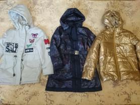 Куртки на р.134-140