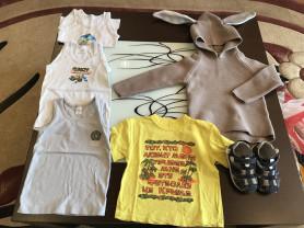Пакет одежды на мальчика 2-3 года.