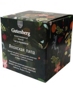 Чай Gutenberg зеленый ароматизир. в пирамидке Японская липа