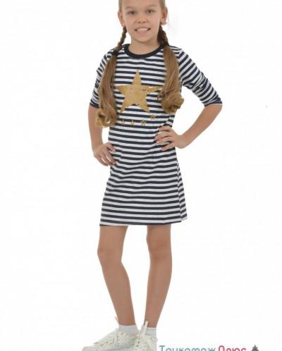 Платье детское П-9 (кулирка с лайкрой)