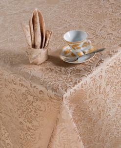 Набор столового белья Ирен (капучино) 150х150см