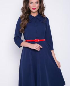 "Платье ""Сафари"" (черника)"