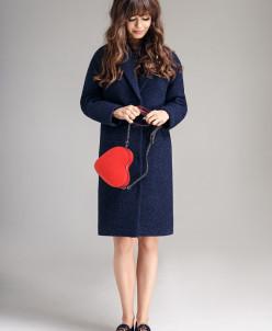 Р1156-C пальто   Цвет: темно-синий