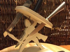 Подставка для ножей Спартанец
