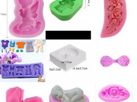 Новые силиконовые формы и молды