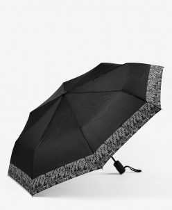 Зонт женский Ferre арт. ZF4-FD-A DIS3 NERO MINI AUTO